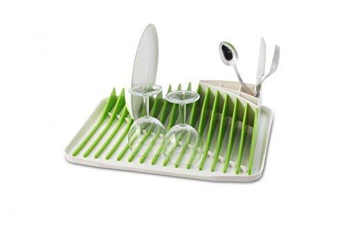 Égouttoir à vaisselle vert et orange original et design